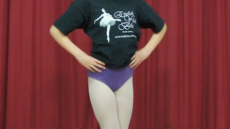 Stephanie Claxton, who will dance in English Youth Ballet's production of Swan Lake at Norwich's The