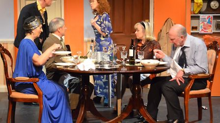 How the Other Half Loves at Sheringham Little Theatre, which has won regional best play award from