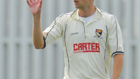 Michael Warnes was among the wickets for Cromer.