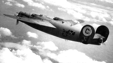 One of the B24 Liberators flown by the 389th Bombardment Group.