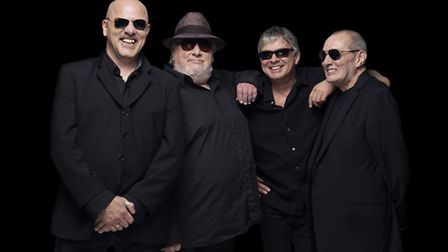 Popular group The Stranglers who will be playing at the Holt Festival tonight.