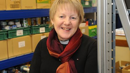 Methodist minister the Rev Sharon Willimott who is trustee of Cromer and District Foodbank. PHOTO: A