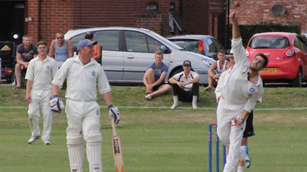 Charity cricket match to raise money for the Big C in Cromer. Picture: Jamie Cater