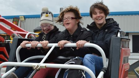 Youngsters enjoying a trip out organised by disability charity About With Friends. Picture: SUBMITTE