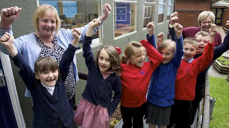 Suffield Park school is getting £2.85 Million to get rid of 4 of it's mobile classrooms. Some of the