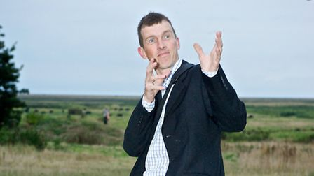 West Runton'sTim Stubbs, who died of cancer on April 13, 2015, pictured at his neice's wedding in 20