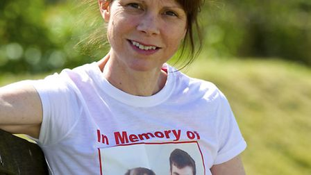 Janet Acott is Running the Pinewoods Triathlon on the 14th June in memory of her son David Acott who