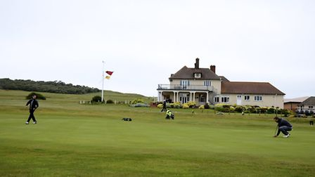 Action from the Norfolk County Amateur Championship at Sheringham Golf Club.Picture: MARK BULLIMORE