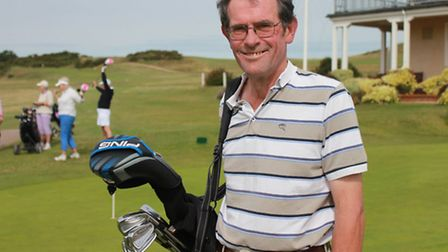 Sheringham golf professional Nick Catchpole, who has been awarded honorary life membership of the PG