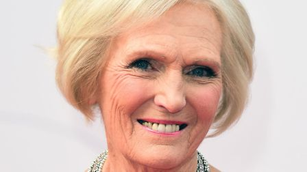 Mary Berry who is supporting the Benjamin Foundation butterfly cake bake off appeal. Picture: Ian W