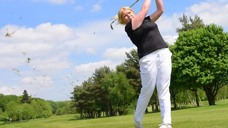 Top Norfolk professional golfer Amber Ratcliffe has linked up with Sprowston Manor Golf Club in a sp