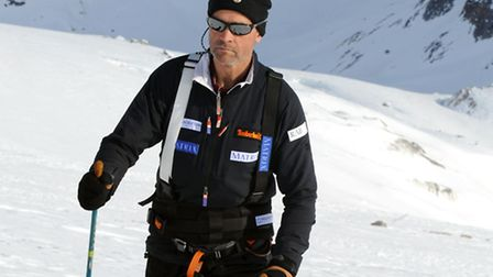 File photo dated 18/04/08 of former Army officer Henry Worsley, 55, from Fulham, London, who has die