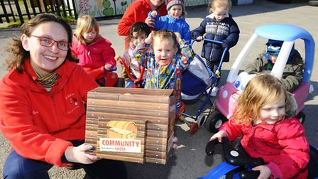 Ladybird Pre School Nursery in Sheringham have been awarded £250 in EDP's community chest campaign t