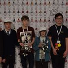 UP FOR A CHALLENGE: George Padolsey, Henry Mixer, Benjamin Candlish, Henry Mixer, Joshua Turner, and