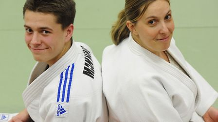 Fifteen-year-old Connor Manning has followed in his mum's judo footsteps by achieving five black tab