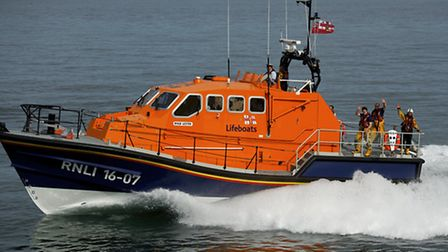 The Cromer RNLI who will be part of a community open day in the town.