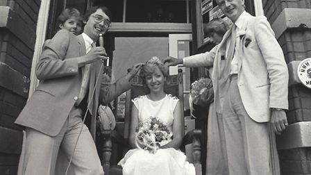 Places - SCrowning Sheringham Carnival Queen - David Clayton and Wally Webb1983 - M103922-20 - C1169