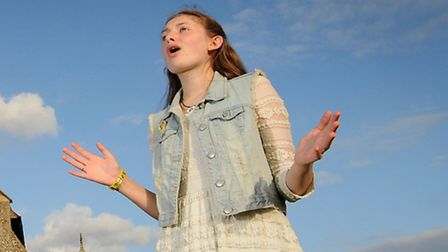 Olivia Watson, 14, had auditioned for Britain's Got Talent and is performing in Little Barningham St