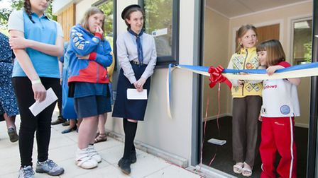 Offical opening of the new Girlguiding's achive and resource centre in Coltishall. Pictured Alicia W