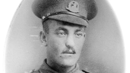 Frank Loady Allen of Cromer, killed on the first day of the Battle of the Somme. Picture: POPPYLAND