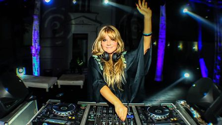 DJ Goldierocks is set to put Blicking in a spin.