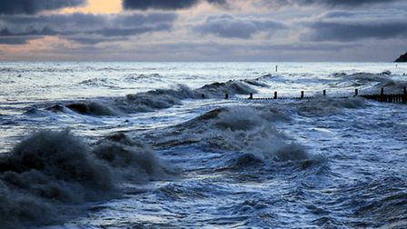 Early morning at Overstrand beach. Picture by Jerry Linden-Ball
