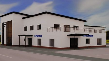 A computer generated image of the proposed new medical centre in Cromer. Picture: MARK BULLIMORE