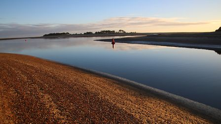 Just after sunrise around the Lifeboat House at Wells-Next-The-Sea. Photo: Martin Sizeland