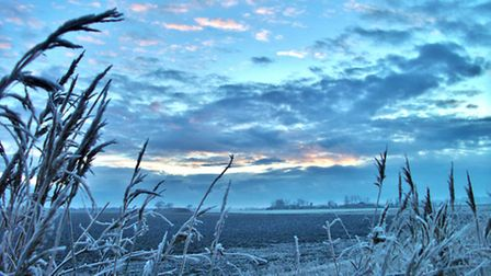 A very chilling morning at Waxham Cut. Photo: Anne Marks