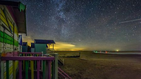 Wells-next-the-Sea with the most spectacular view of the night sky. Photo: Alex Lyons