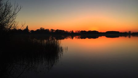 Stunning skies over the Norfolk broads. Photo: Laura Baxter