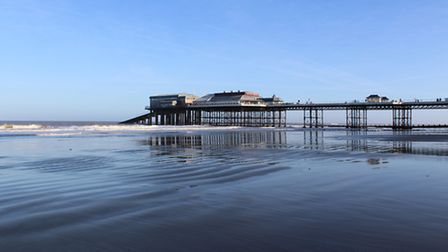 Cromer Pier on a winter's day. Photo: Gail Barker