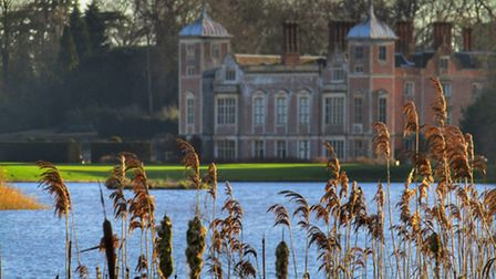 View of Blickling Hall standing lakeside. Photo: Laura Baxter