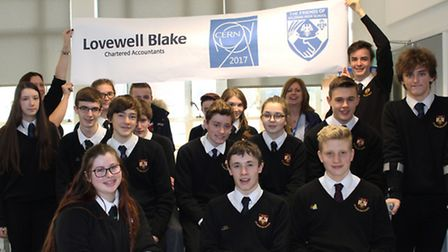Students from Aylsham High School have been inspired to plan a visit to CERN, home of the Large Hadr