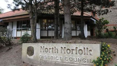 North Norfolk District Council headquarters in Cromer. Picture, NNDC.