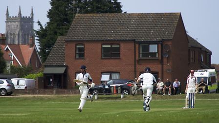 Cromer CC have stepped up their preparations for the new season. Picture: MARK BULLIMORE