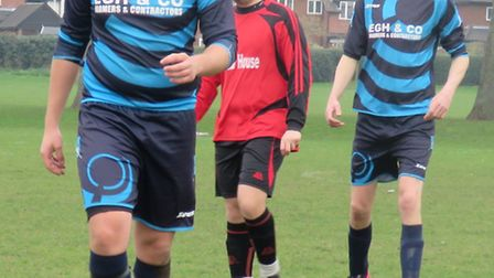 Trimingham Pilgrims recorded an incredible 20-0 away win at the weekend. Picture here are Liam Davi