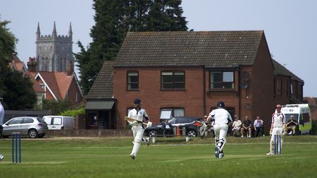 A new season of Norfolk Alliance cricket is under way at Cromer. Picture: Archant