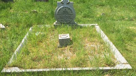 Concerns have been raised over the unkempt state of Henry Blogg's grave at the cemetery in Cromer. P