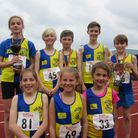 Some of the Norfolk Harriers who represented the club at the Norfolk Track and Field Championships a