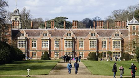 Blickling Hall, which will be hosting a mausoleum walk this weekend. PHOTO: MARK BULLIMORE