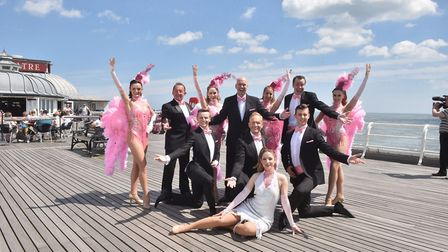 Launch of the Cromer Pier Show 2017. Picture : ANTONY KELLY
