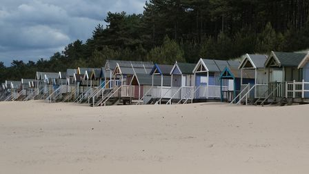 Wells beach on a windy afternoon. Picture: Martin Sizeland