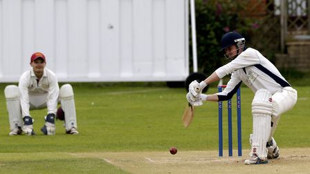 Matthew Warnes made exactly 100 as Cromer recorded another win in the Premier Division of the Cecil