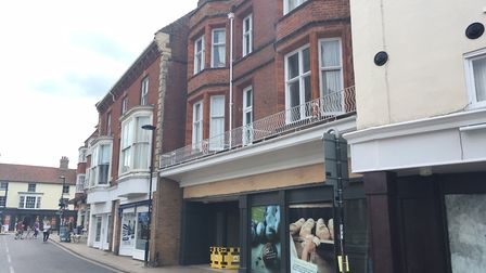 The new Co-op and Post Office will open at the former Budgens' store in Cromer later this month: Pi