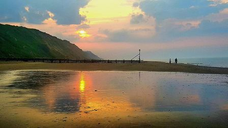Mundesley Beach. Picture: Sheila Denny
