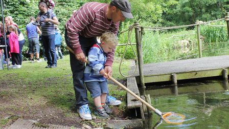 Fun for all the family at Holt Hall. Photo: KAREN BETHELL