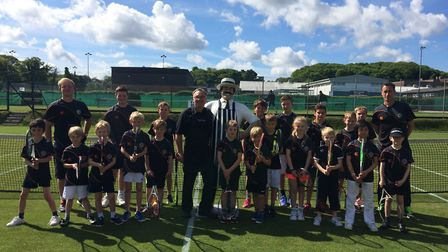 The Great British Tennis Event hosted at Cromer saw players and parents of all ages taking part in g