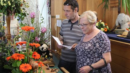 St Andrew's Flower festival, which runs this weekend at Sheringham. Picture: KAREN BETHELL