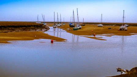Wells at low tide. Picture: Wayne Smith